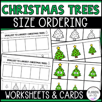 Christmas Trees Size Ordering (From Smallest to Largest)