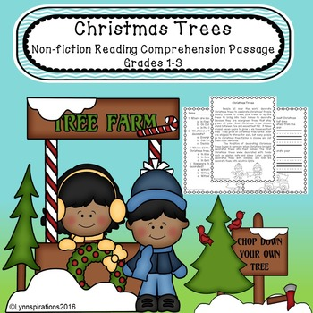 Christmas Trees- Non-fiction Reading Comprehension Passage