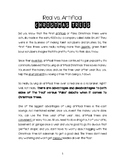 Christmas Trees Opinion Reading and Writing Packet