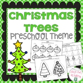 Christmas Trees Preschool Packet