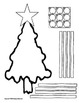 UPDATED - Christmas Trees Tens & Ones (place value with hundreds challenge work)