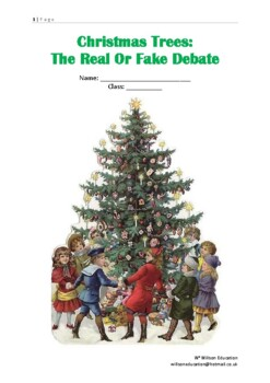 Christmas Trees - The Real Or Fake Debate