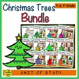 Christmas Trees Themed Literacy & Math Bundle