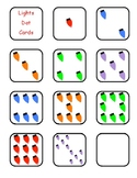 Christmas Trees & Lights Numeral Cards