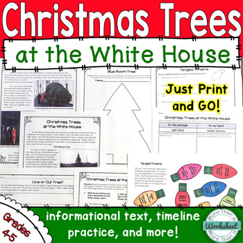 Christmas Trees at the White House