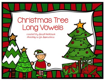 Christmas Trees {long vowel sorting activity}