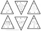 Christmas Triangles- 90 Multiplication cards!