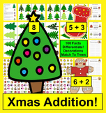 Christmas Math: Addition Facts