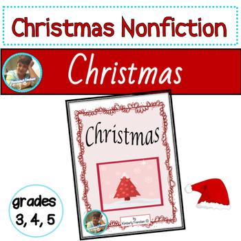 Christmas Trivia Cards, Nonfiction passages, Printables, & Flip Book