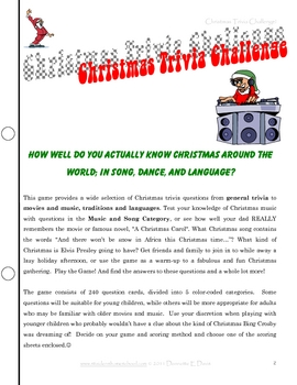 photo relating to Christmas Trivia Printable known as Xmas Trivia Situation, Printable Loved ones Total Expertise Sport