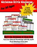 Christmas Trivia Challenge, Printable Family General Knowl