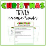 Christmas Trivia Digital Escape Room