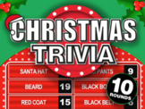 Christmas Trivia    Family Feud Christmas Classroom Game   Distant Learning Game