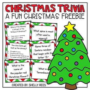 free christmas trivia christmas activities - Fun Christmas Trivia