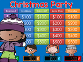 Christmas Party Jeopardy Style Game Show 3rd-9th Grade