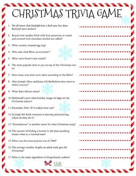 Christmas Trivia Game Download