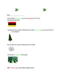 Christmas Trivia Internet Scavenger Hunt