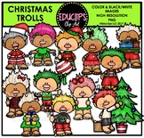 Christmas Trolls Clip Art Bundle {Educlips Clipart}