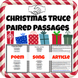 Christmas Truce: Poem vs. Song vs. Article Paired Passages
