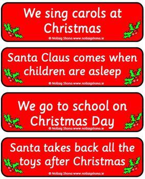 Christmas True or False 01