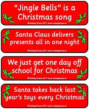 Christmas True or False 02