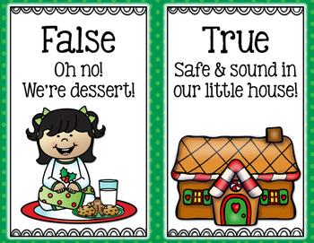 Christmas Math: True or False Equations