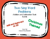 Christmas Two Step Word Problems