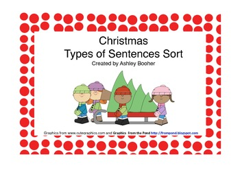 Christmas Types of Sentence Sort