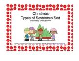 Christmas Types of Sentence Sort