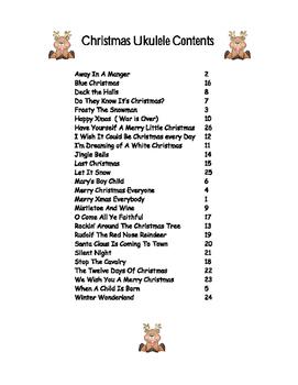 Christmas Ukelele Songs