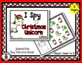 Christmas Unicorn - Adapted 'I Spy' Easy Interactive Reade