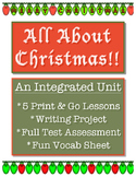 Christmas Unit // Language // Social Studies // Bundle //