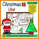 Christmas Unit: Activities & Centers