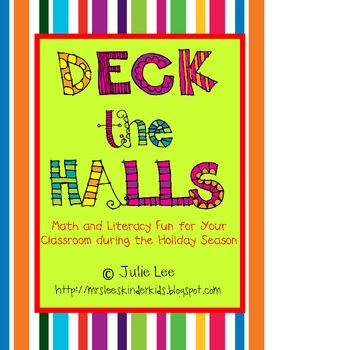 Christmas Unit - Deck the Halls