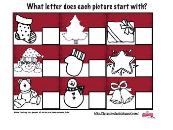 Christmas Unit Freebies