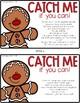 Gingerbread Man Hunt - Christmas Fun - Freebie - PreK, Kin