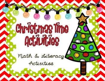 Christmas Unit *Math & Literacy* *COMMON CORE*