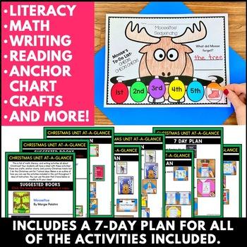 Christmas! Math, Literacy, & Writing Activities!