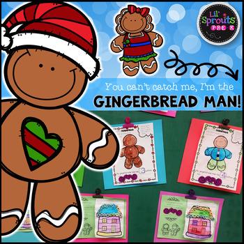 The Gingerbread Man Comprehensive Unit - Preschool, Pre-K/