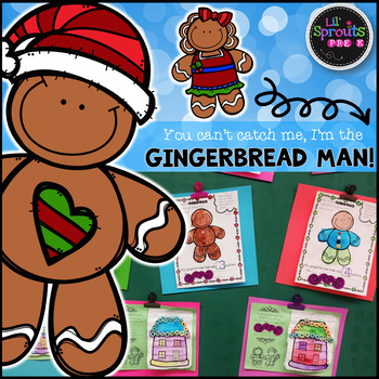 The Gingerbread Man Comprehensive Unit - Preschool, Pre-K ...