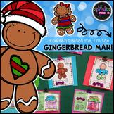 The Gingerbread Man Comprehensive Unit - Preschool, Pre-K/PreK, Kindergarten