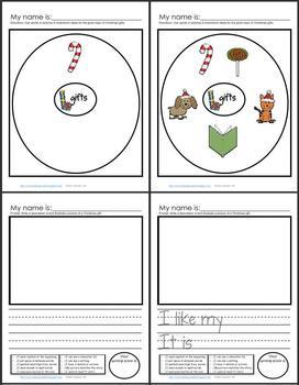 Christmas Unit: Think--Talk--Draw--Write
