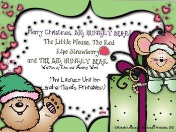 MERRY CHRISTMAS BIG HUNGRY BEAR Teacher Pack by Ms. Lendahand:)