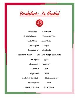 Christmas Unit for Spanish Classes