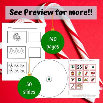 Christmas Unit for Special Education