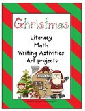 Christmas Unit with Polar Express Activities Literacy, Mat