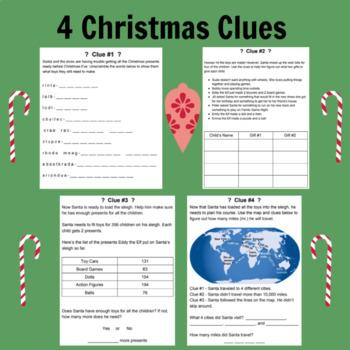 Christmas Unlock the Box Mystery