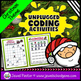 Holiday Unplugged Coding Activities (Christmas Coding Unpl