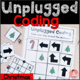 Christmas Unplugged Coding Activity for Beginners (English