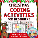 Christmas Unplugged Coding for Beginners Great for Hour of Code™